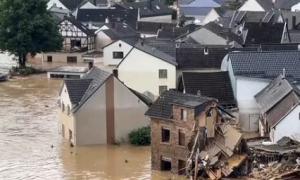 durchflutete Häuser